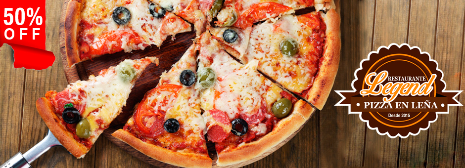 50% OFF: Paga $15 y consume $30 en pizzas y sodas en Legends Pizza. | RESTAURANTES | Chile