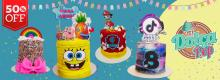 "50% OFF: Paga $18 por un dulce de 5"" decorado con buttercream y toppers en ""Dolca Pop"""