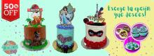 "50% OFF: Paga $30 por un dulce de 5"" decorado + 6 mini cupcakes + 6 cake pops"